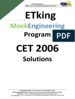 CET 2006 Solutions
