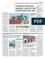 Riesgo crediticio Perú mejorar nivel A_Gestión 25-03-2014