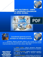Prezentare BI (5) Cultural Intelligence