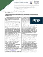 2013 Romana Judeteana Bucuresti Clasa a via Subiecte Si Bareme