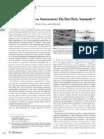 Advanced Materials Volume 19 issue 23 2007 [doi 10.1002%2Fadma.200701784] M. Remškar; A. Mrzel; M. Viršek; A. Jesih -- Inorganic Nanotubes as Nanoreactors- The First MoS2 Nanopods (1)