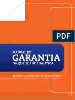 LANAGRO Manual de Garantia Analitica
