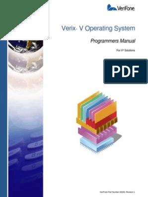 23230 Verix v Operating System Programmers Manual | Image