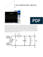 An Alternative Way to Find Out the Value of a Small Inductor