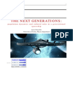 Luca Cinacchio :THE NEXT GENERATIONS: population dynamics and cultural rules in a generational spaceship