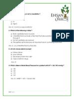CVS Trial Exam