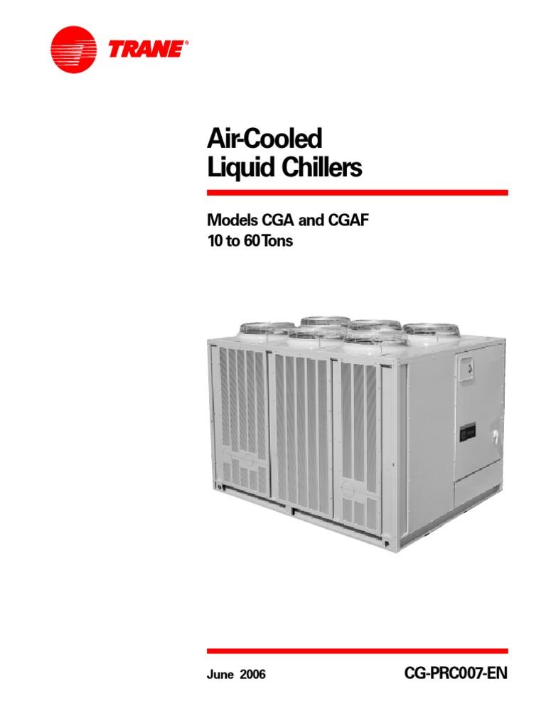 Cg Prc007 En 0606 Building Automation Gas Compressor Trane Wiring Diagrams Model Echalon