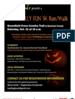 Healthy Ghouls Benefit Race!