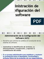 01 Administración de la configuración del software