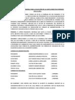 Acta de Asamblea Extraordinaria 24-01-2014