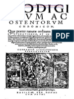 Prodigiorum Ac Ostentorum Chronicon by Conrad Lycosthenes