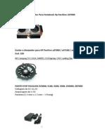 Cooler Com Dissipador Para Notebook Hp Pavillion Zd7000