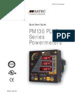 Pm130 Plus-quick Start