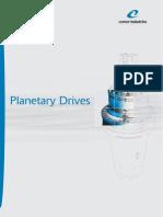 Redutores Planetários - Catálogo COMER