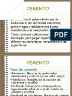 cemento produccion