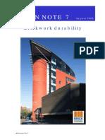 Brickwork Durability