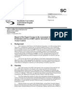 Stockholm Convention on Pops - 2012 Report of the Expert Group on the Assessment of the Production and Use of Ddt and Its Alternatives for Disease Vector Control