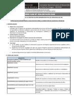 024 Convocatoria Formato Servir 2014