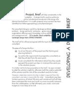 Slp Strategy Appendices Design Brief Template 2008