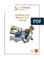 Camworks Tutorial Mill and Turn