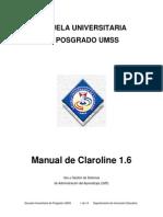 1.4. Tutorial Claroline Gestion de Evaluacion
