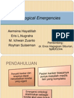 JOURNAL Oncological Emergencies-Dr. Enos SpB(K)Onk
