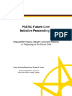 PSERC Future Grid Proceedings May 29 2013