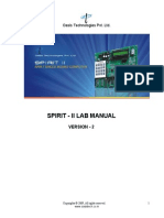 Spirit-II Lab Manual