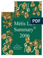 Metis Law and Rights