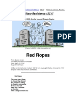 Military Resistance 12C17 Red Ropes
