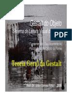 7-Teoria Geral & Leis Da Gestalt-2009