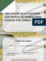 APLICACIÓN DE LA AUDITORIA CON PAPELES DE TRABAJO