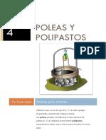 TEORIA Poleas y Polipastos