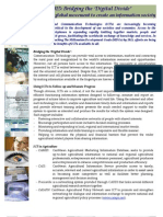 Information and Communication Technology - Target 2015 - Backgrounder