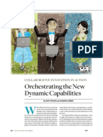 Orchestrating the New Dynamic Capabilitities