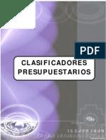 Clasificador presupuestario_2013