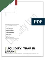 Liquidity Trap in japan
