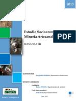 Estudio Socioeconomico y de La Mineria Artesanal en Bonanza H1 FINAL RV-Libre