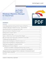 Migrating Exchange Public Folders to SharePoint With Metalogix Migration Manager for Exchange Public Folders.sflb