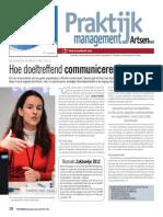 Hoe doeltreffend communiceren in de gezondheidszorg?