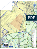 Greensboro Airport Sewer Extension Map (East)