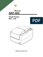 Srp-500 User English Rev 1 05