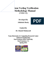 System Verilog - Verification Methodology Manual