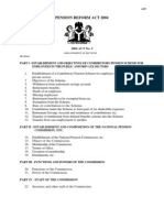 Nigeria Pension Reform Act 2004