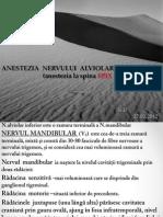 82991053 Anestezia N Alviolar Inferior La Spina SPIX