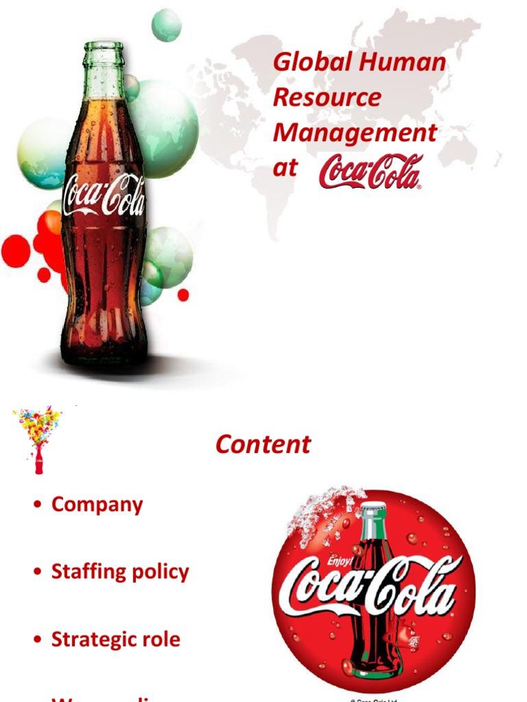Global Human Resource Management at Coca Cola   Human Resource