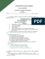 Ficha formativa - O Universo - Resolução