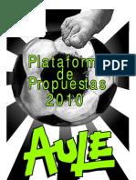 Plataforma PUEF