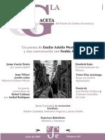 Gaceta del Fondo, La. 367 [FCE; México; Julio, 2001]