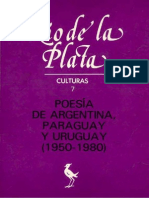 Schiavetta, Bernardo - 'La poesía argentina de hoy' [Río de la Plata, n° 7, 1988]